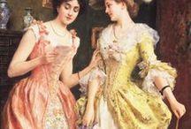 Dresses in Art