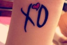 XO tattoos / XO logo tattoos