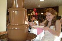 Chocolate Fountain / www.chocolatepassions.co.uk