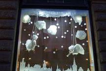 christmas window diplay