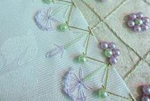 Stickkunst und Perlenstickerei / Wunderschöne Stickkunstwerke und Perlenstickerein- nicht von mir, sondern Netzfundstücke :)