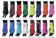 horse boots/ polo wraps