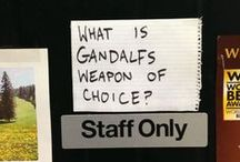 Librarian Humor / Laughing in the library!