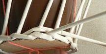 Paplet - papierové pletenie / Papierové pletenie, plaplet, výrobky, postupy.  Paplet, products, tutorials