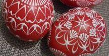 Veľká noc - dekorácie / Easter / Veľkonočné dekorácie, veľkonočné vajíčka, vítame jar a tešíme sa na ňu.