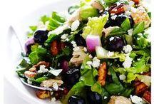 Paleo-friendly and Gluten-free Salads / Gluten-free and Paleo-friendly Salads