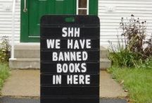 Banned! / Banned Books: Read at you own risk!