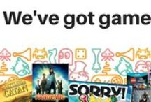 Games! / Board games, Video games, Party games, Backyard games!  Suggestions for every occasion.