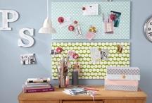 Projekt: Schreibtisch / nächstes Projekt zuhause: Pimp my Schreibtisch, mehr Platz + Organisationsideen, Inspirationen,... / by a.liZ.a