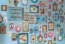Projekt: Bildergallerie/Wandgestaltung / neues Projekt für unser Wohnzimmer: Bildergalerie für die Wand. Alles rund um die Rahmengestaltung, Bilder, Drucke, Ideen,... / by a.liZ.a