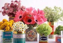 fleurs + plant world / duftend, bunt & wunderschön. Lieber ne selbst-gepflückte Wildblume als ein angesprühter Blumenstrauß von der Tankstelle. Man bekommt niemals genug von Ihnen, denn Blumen machen glücklich...^^ / by a.liZ.a