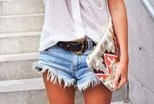Shorts/Hotpants(Jeans, Denim,beste: hochgeschnitten) / by a.liZ.a
