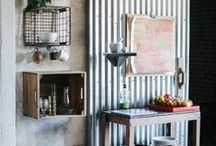 Reclaimed and Recycled / We love anything recycled, upcycled or clever re use of materials