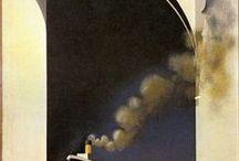 Ships Posters / Reklameplakater (posters) av  passasjerskip.