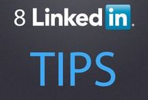 LinkedIn / Tips and tricks for navigating #LinkedIn as a professional or as a business. #socialmedia