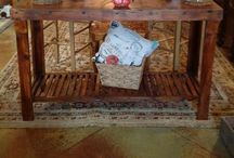 Reclaimed Cypress Furniture / Reclaimed Furniture