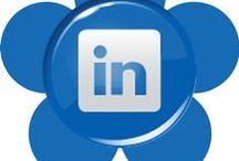 Ícones de Mídias Sociais 9 - Social Media Icons 9 / Flores Sociais - Social Flowers