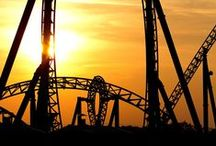 Touch of risk / Rollercoasters are risky but makes free ;)