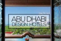 Best Design Hotels in Abu Dhabi / http://www.myboutiquehotel.com/mag/design-hotels-in-abu-dhabi/