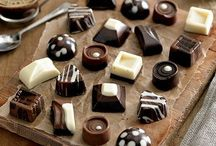 Making homemade chocolate / Ideas for homemade chocolates, truffles and treats as well as some useful products. / by Lucy Treleaven