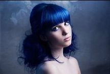 Яркие образы / Colored Hair : purple, blue, green, turquoise, pastel