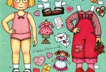 bambole di carta da vestire