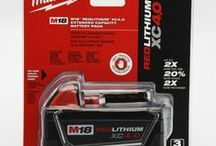 Batteries You'll Need / Milwaukee cordless tool batteries that you'll always need. Just get a few of these and you can power 100's of different Milwaukee cordless tools including drills, lights, and radios. Imagine only needed 2 batteries to power a garage full of tools. Just remove the battery and plug into the next and power away. Easy to fix anything.