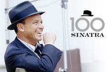 """Sinatra 100 Years / Francis Albert """"Frank"""" Sinatra Born Decemeber 15, 1915.  The following film and music titles are available at the library: / by Highland Park Public Library A-V Department"""