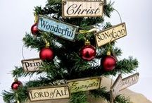 Christ Themed Tree Decorations