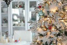 Christmas - White on White / All white Christmas decor