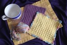 Knitting Tutorial / How to knit, stitch tutorials