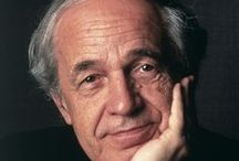 Pierre Boulez (1925 - 2016) / Pierre Boulez composer, conductor, writer passes away aged 90.  His importance to 20th Century cannot be overestimated! / by Highland Park Public Library A-V Department