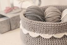 Crocheting - Baskets