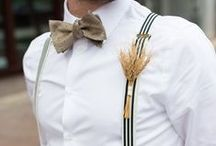 Groom Style / Featuring groom style inspiration from the Real Wedding galleries on lovemadisonweddings.com.