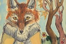 Fox pictures / Foxes in art