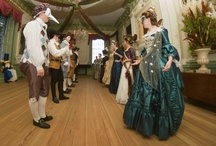 An 18th Century Christmas Candlelight Masquerade / It's beginning to look a lot like Christmas -- at least in the workroom of Tryon Palace historic clothing coordinator, Laura Rogers. Laura's been working on the costumes and accessories for this year's Christmas Candlelight celebration which will feature a grand masquerade in the Governor's Palace. Replete with vivid decorations inspired by Margaret Tryon's childhood in India, the masquerade will reflect 18th-century Americans' fascination with cultures from afar and all things exotic.