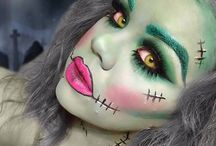 Twisted Halloween Makeup / Halloween makeup / by Twisted Halloween