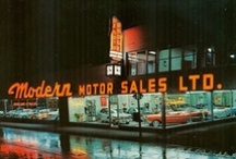 What Makes Us! / Classic car salesman and dealership pics