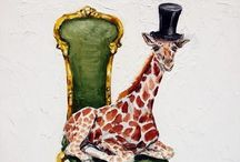 Grand Giraffes / This board is about Giraffes. / by Barbara Williams