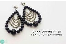 diy jewelleries: earrings