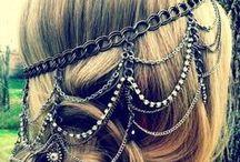 diy jewelleries: hair accessory