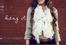 diy clothes: scarf