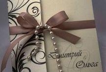 Приглашения на свадьбу / Приглашения на свадьбу- визитная карточка Вашего торжества. По стилю и цветовой гамме приглашения Ваши гости могут определить, будет ли это тематическая или классическая свадьба, в каких тонах им лучше подобрать гардероб