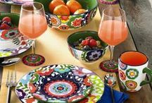 Spring Home Decor / Spring signals a time to freshen the home with pops of color and bright accents. Shop the latest home accents in stores and www.SteinMart.com