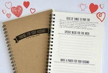 Praying for your Husband - journal and resources / Glowing Local's very own Praying for your Husband journal