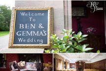 Wedding photos - Ellingham Hall