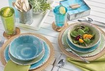 Summer Home Event! / Make your home warm and bright with our selection of summer house décor! Create an inviting atmosphere with fun, decorative accents, playful plates and lovely lamps too! http://bit.ly/1QBXmdg