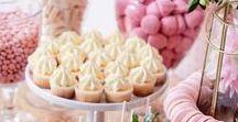 * Themafeest roze / pink * / Inspiratie voor een roze themafeestje; een (eerste verjaardag, vrijgezellenfeest, babyshower of kinderfeestje. Pink, lichtroze, oudroze, fuchsia versiering, accessoires en aankleding.