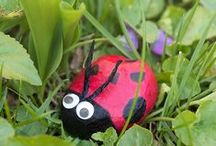 Nature Crafts / Check out these great nature inspired crafts you can make with kids!