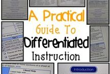 Instruction / 3a: Communicating with Students ~  3b: Using Questioning and Discussion Techniques ~  3c: Engaging Students in Learning ~  3d: Using Assessment in Instruction ~  3e: Demonstrating Flexibility and Responsiveness